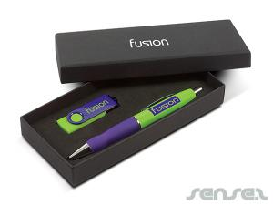 Mix 'n Match USB & Pen Gift Sets