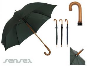 Holzgriff Regenschirme