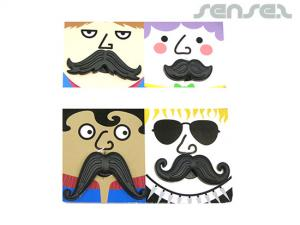 Custom Magnetic Moustaches