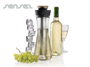 2 in 1 Weißwein Karaffen & Kühler