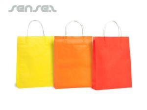 Farbe Papiertüten (Medium)