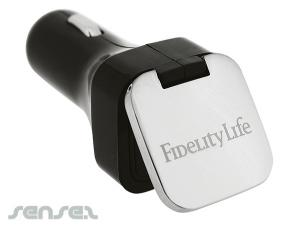 Flip Top Double USB Car Chargers