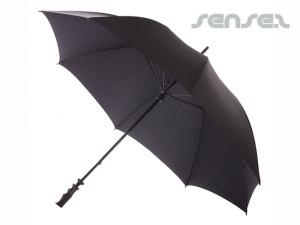 Noble Black Umbrellas