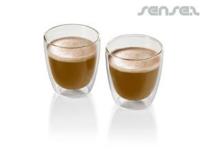 2pc Coffee Glasses Sets