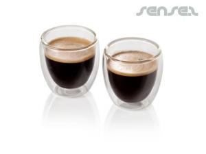 2pc Espresso Glasses Sets