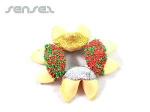 Weihnachten Eingetaucht Fortune Cookies