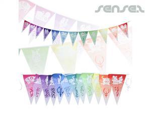 Dreieckige Flagge Ammern (Satz 12 Flaggen)