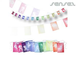 Rectangular Buntings (set of 12 Flags)