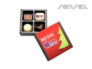 Chocolate Truffle boxes (4pcs)