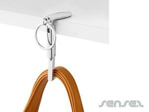 Oval Taschenhaken Schlüsselanhänger