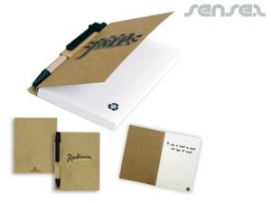 Arielle Recycled Notebook & Pen Sets (A6)