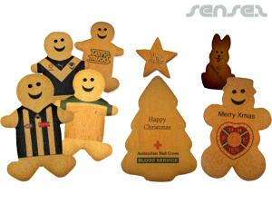Gingerbread Cookies with edible Logo