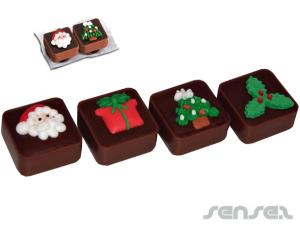 Christmas Choc Caramels (Twin Pack)