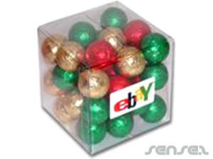 Mini Chocolate Cubes