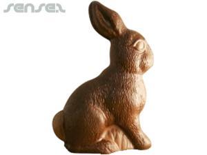 Sitting Chocolate Bunnies 140mm