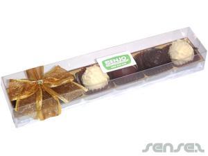 Gourmet Schokoladen-Trüffel-Geschenk-Box (6 Stück)