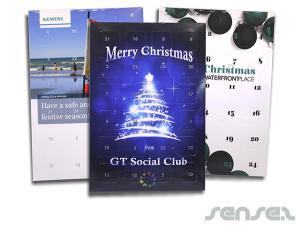 A4 Xmas Advent Calendars