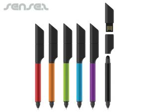 Tokyo USB Stylus Pens (2GB)