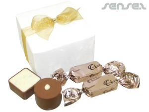 Schokolade Geschenkboxen (4 Stück)