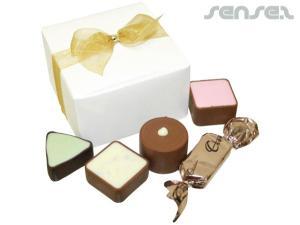 Schokolade Geschenkboxen (5 Stück)