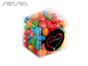 Corporate Coloured Chewy Fruit Cubes (110g)