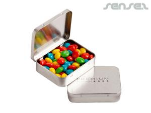 Corporate Coloured Chewy Fruit Tins (65g)