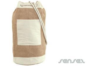 Eco Jute Duffel Bags