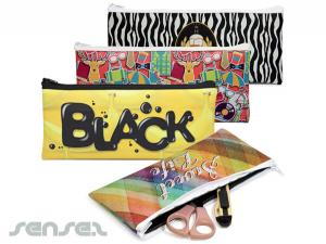 Neoprene Pencil Or Cosmetic Pouches