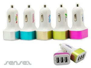 Tripple USB KFZ-Ladegeräte