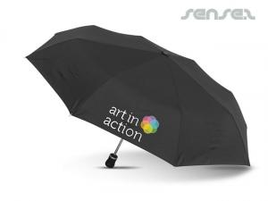 Compact Black Umbrellas