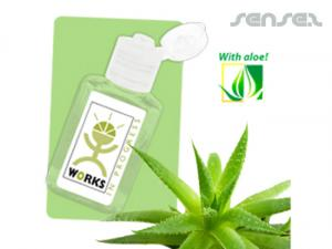 Personalised Aloe Hand Sanitisers (30mL)