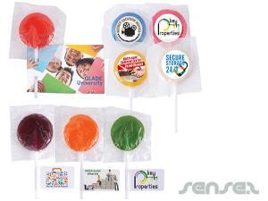 Assorted Farbe Lollipops