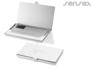 Aluminum Business Card Holders