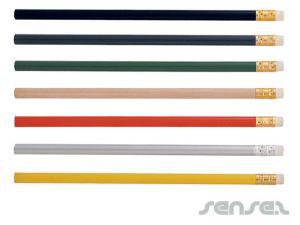 HB Bleistifte in Farbpalette