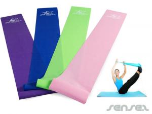 Yoga oder Pilates Bands