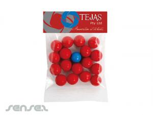 Confectionery Bags with Headers (50g)