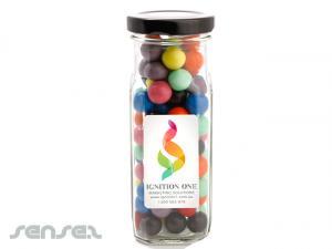 Confectionery in Tall Gläser
