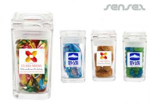 Mini Glass Jars Süßwaren
