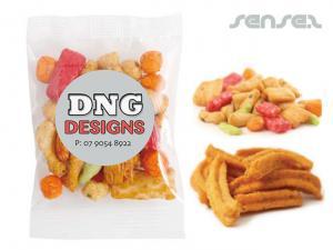 Reiscracker oder Soja Crisps in Taschen (50 g)