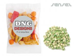 Wasabi Peas in Branded Bags (50g)