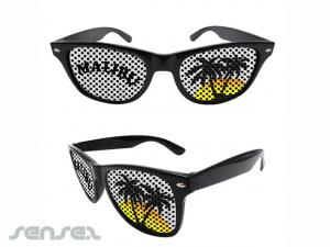Pinhole Logo Sunglasses