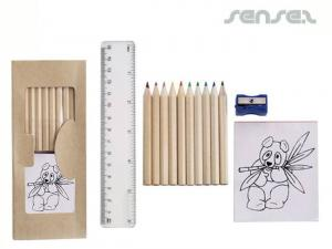 Colouring Sets with Ruler