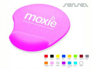 Colour Gel Wrist Support Mouse Pads