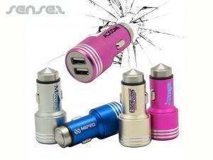 Sicherheits-Hammer USB-Autoladegerät