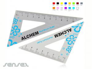 Aluminium Dreieckige Lineale