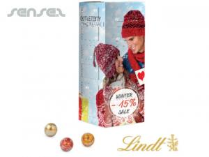 Advent Tower With Lindor Balls