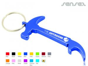Hammer Bottle Opener Keyrings