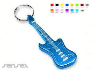 Guitar Bottle Opener Keyrings