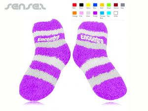 Fuzzy-Socken