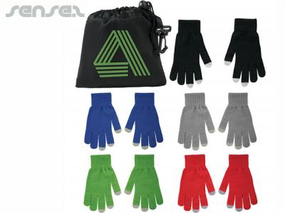 Touchscreen Gloves Promotional Scarves Sense2